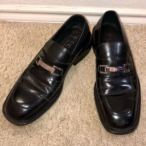 Men's Gucci Horsebit Buckle Leather Loafers 9.5 US